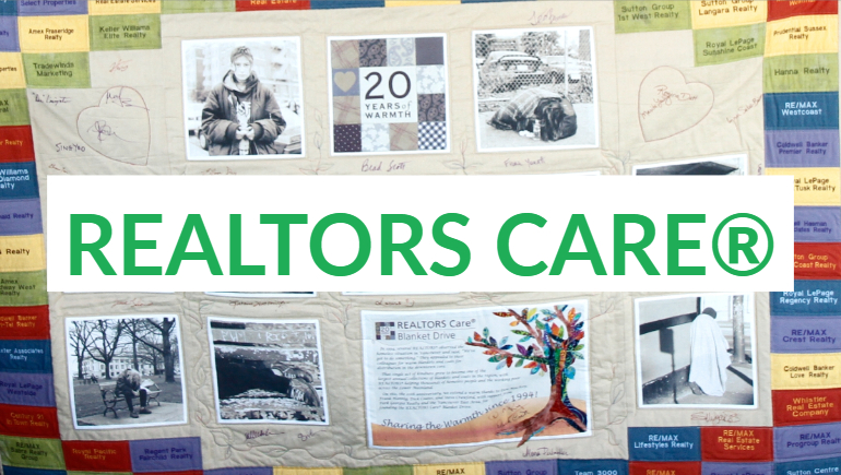 The 25th annual REALTORS Care® Blanket Drive begins November 18