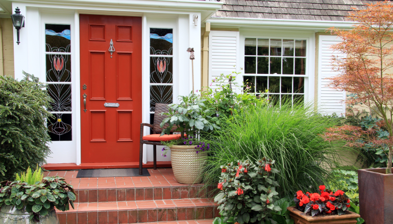 Curb appeal - make the outside of your home more attractive to buyers