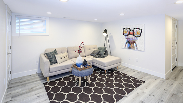 Home suite home: Making a basement suite feel like home