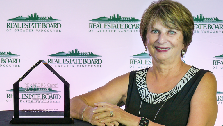 Maple Ridge REALTOR® honoured for her life-saving act of kindness
